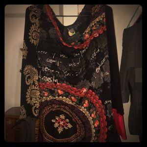 Desigual long sleeve top